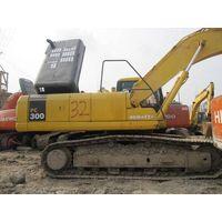 used komatsu excavator PC300,used excavator,hydraulic excavator