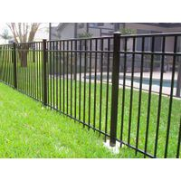 Aluminum fence for home and garden courtyard outdoor