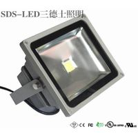 10W-80W IP65 LED flood light Integrated Natural White Black LED flood light thumbnail image