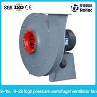Industrial high pressure exhaust fan centrifugal fan