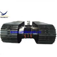 6 ton excavator rubber track undercarriage with slewing bearing thumbnail image