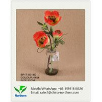 Real Touch Artificial Poppy for Home