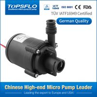 High temperature 12v 24v closed-type impeller micro electric dc brushless water pump thumbnail image