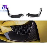 F80 M3 F82 F83 M4 Carbon Fiber Front Bumper Splitter For BMW 2015+