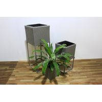 Wicker planter - CH3324A-3GY