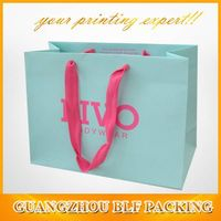 wholesale paper shopping bags(BLF-PB025) thumbnail image