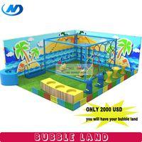 2018 bubble land kids soft play equipment factory custom made