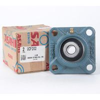 Japan NSK NTN ASAHI Heavy-duty Square Housing Pillow Block Bearing UCF 202 UCF202 Size 158630.9mm