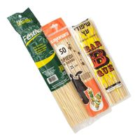 Top quality bamboo bbq skewer