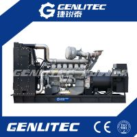 Building Backup Plant 1000kw Perkins Diesel Generator Set 1250kVA Perkins Genset