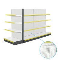 JIEBAO Supermarket Shelves 120KG each bay punch pegboard JB-2013