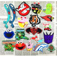 Transformers Christmas tree hand embroidery badges patches thumbnail image