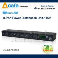 ACAFA PS1158 8-Port Power Distribution Unit-115V