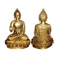 Handmade Brass metal Lord Gautam Buddha Designer Statue By Aakrati