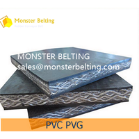 PVC/PVG solid woven Fire Resistant Conveyor Belt