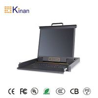 19 inch rack 1 port vga kvm switch