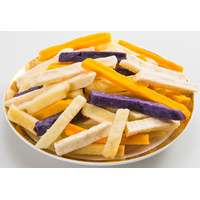 vegetable & fruit chips/sticks snacks