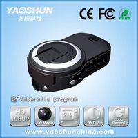 "2.0"" LCD HD 1080P built-in GPS LR-D919 car video recorder"