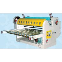 single facer corrugated paperboard cutter