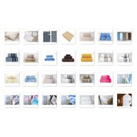 Towels, bed linen and home textiles