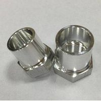 precision stainless steel bushing and  screw head guide bushing