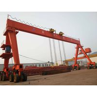 tyre type gantry crane to lift girders