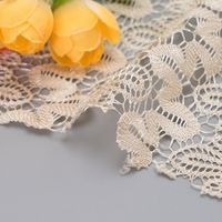 Chinese dragon embroidered net cloth big dragon flower jacquard lace cloth wedding stage dress thumbnail image