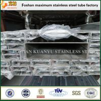 rectangular inox pipe large stainless steel pipe