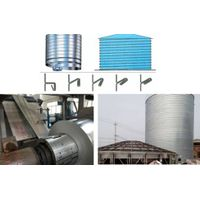 Composite Stainless Steel  Spiral Silo Tank Panel