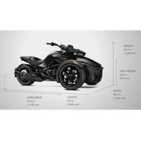 New 2017 CAN-AM SPYDER F3 ATV