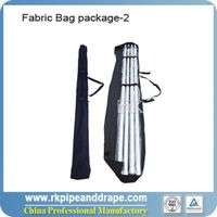 Reinforced fabric bag for 4pcs uprights