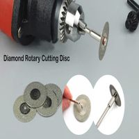 Diamond Rotary Cutting Disc For Cutting Gemstone , Glass, Stone
