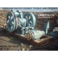 "UNUSED (NEVER USED) ""KAWASAKI"" MODEL KD-4232G (42"" X 32"") DOUBLE TOGGLE JAW CRUSHER S/NO. ST12004"