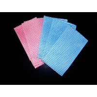 spunlace nonwoven wipes for kitchen cleaning/household cleaning thumbnail image