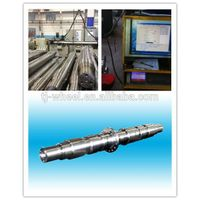 Railway steel axle stainless and durable