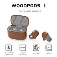 woodpods true wireless earbuds matte tws 5.0 true wireless dock tws in-ear earphone bluetooth thumbnail image