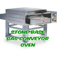 STONE BASE Pizza Conveyor Oven - Gas Type