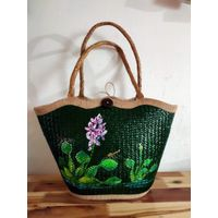 Hot Selling Women Shoulder Bag Straw Tote Bags Summer Beach bag, Water Hyacinth Bag thumbnail image