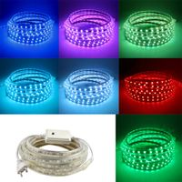 AC220V Flex LED strip light Christmas decoration Indoor Outdoor LED Tape Lighting for Kitchen Gardon thumbnail image