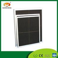 Aluminum Frame Black Nylon Mesh Preliminary Filter for HVAC System