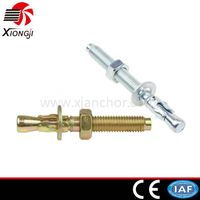 White Yellow Zinc Concrete Wedge Anchor Bolt