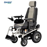 Heavy Duty Power Wheelchair with Lamp System
