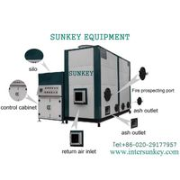 SUNKEY hot blast furnace for drying