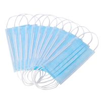 Earloop 3 Ply Non Woven Surgical Face Mask / 3ply Disposable Medical Face Surgical Mask