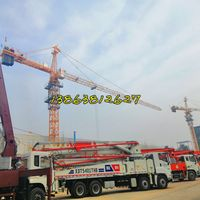 10t tower crane 10t hammer head tower crane
