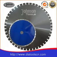 Laser welded diamond disc for granite