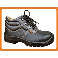 embossed leather safety shoes300502