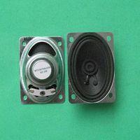 Oval speaker