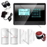 Touch Keypad Wireless GSM Home Security Auto-Dial Alarm System Intruder Alarm