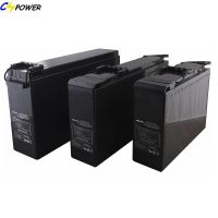 Front Terminal Lead Acid Battery 12V100ah for Telecom
